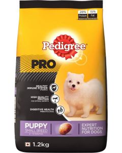 Pedigree Pro Puppy Small Breed Dog Food 1.2 Kg