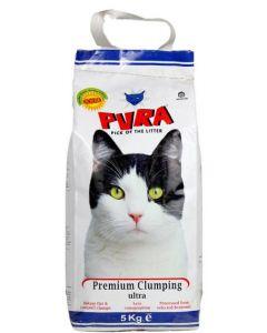 Pura Premium Clumping Ultra Cat Litter 5 Kg