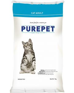 DROOLS Pure Pet Ocean Fish Cat Adult 20 Kg.