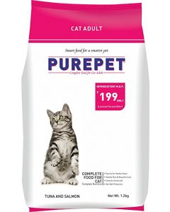 DROOLS Pure Pet Tuna and Salmon Cat Adult 7 Kg.
