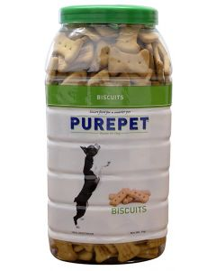 DROOLS PurePet Biscuit 1kg 100% Vegetarian-JAR