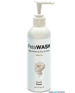PetaWASH White Silk Shampoo 225ml