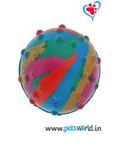 Pets World Dog Rubber Ball Small