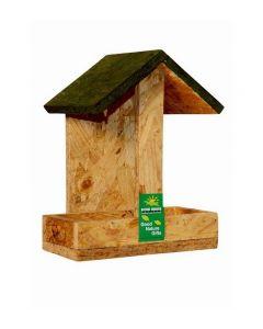 Nature Forever Hut Wooden Feeder