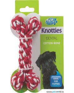 Pet Brands Knotty Bone Dog Toy Small