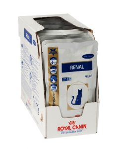 Royal Canin Veterinary Diet Wet Renal Chicken Cat Food 1.2 Kg