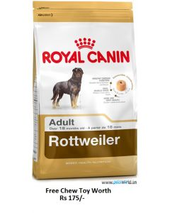 Royal Canin Rottweiler Adult Dog Food 3 Kg Plus Free Chew Toy