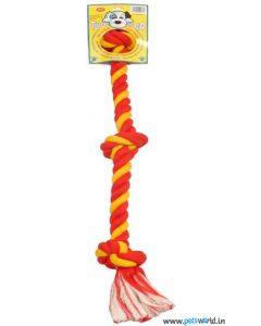 Pet Brands Multicoloured Rope Toy For Dogs Medium