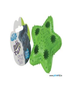Pet Brands Rubba Tuff Star Treat Dog Toy