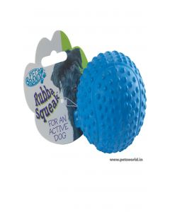 Pet Brands Rubba Squeaka Tennis Ball