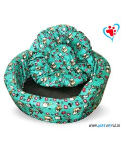 DOG EEZ DISNEY Round Lounger/Basket Bed (Large)