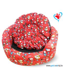 DOGEEZ DISNEY Magic Round Lounger/Basket Dog Bed (Small)