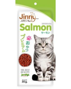 Jerhigh Jinny Salmon Cat Snack 35 gms