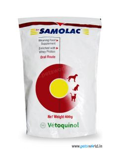 Vetoquinol Samolac Weaning Food For Puppies And Kittens 400gm
