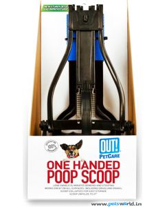 PetCare OUT One Handed Poop Scoop