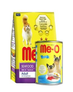 PetsWorld MeO Seafood 7 kg New Year Special Combo