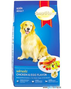 SmartHeart Adult Dog Food Chicken And Egg 3Kg