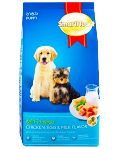 SmartHeart Puppy Dog Food Chicken Egg And Milk 8 Kg