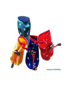 Party Special Waterproof Dog Shoes Small