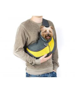 Petsworld Sling Carrier For Pets Yellow