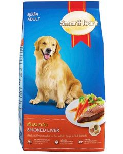 SmartHeart Adult Dog Food Smoked Liver 1.5 Kg
