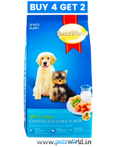 SmartHeart Puppy Chicken Egg & Milk 500gm