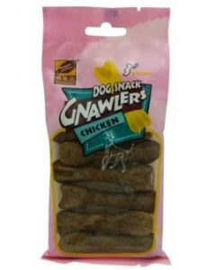 Gnawlers Dog Treats Snack Chicken