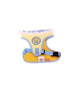 Petsworld Dog Soft Mesh Harness Clothes Yellow Blue