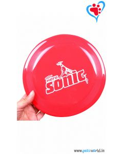 Petsworld Dog Frisbee Dog Toy - Red