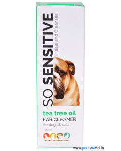 Tea Tree Ear Cleaner For Dogs and Cats 20ml