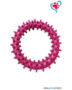 Petsworld Spike Ring Chew Dog Toy