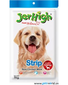 Jerhigh Dog Treats Strip 70 gms