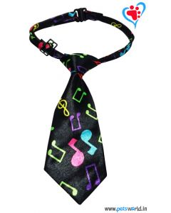 Dogeez Puppy/Mini Breed Adjustable Dog Tie - Pawsome Music