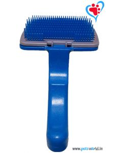 Petsworld Self-cleaning Dog Slicker Brush (Large)