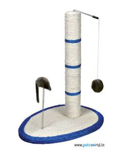 Trixie Me Scratching Post  - Floor Area : 20x12 inch
