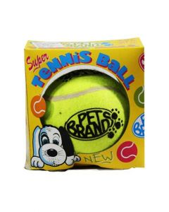 Pet Brands Super Tennis Ball Dog Toy