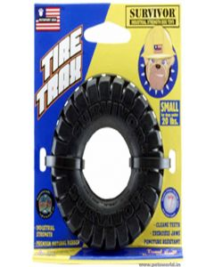 Petsport Surviver Tire Trax Dog Toy Small