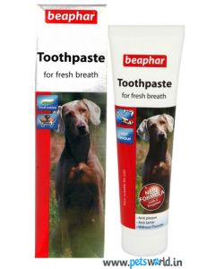 Beaphar Double Action Toothpaste For Dogs 100 gms