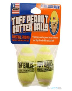 Petsport Tuff Peanut Butter Balls Dog Toy 2 Pcs