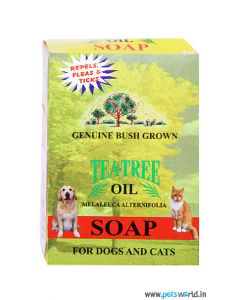 Tea Tree Oil Soap For Dog And Cats 75 gm