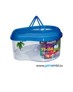 Dophin Plastic Turtle Tank for Small Turtles TT-320