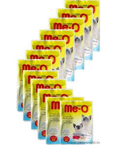 MeO Tuna with Chicken in Jelly Gravy Cat Food 12 Pcs