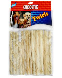 Choostix Twirls Treat Sticks 200 gms