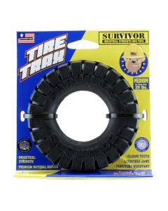 Petsport Surviver Tire Trax Dog Toy Medium