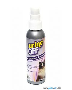 Urine Off Stain & Odour Remover For Cat & Kitten 118 ml