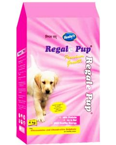 Venkys Regale Pup Dog Food 4 Kg