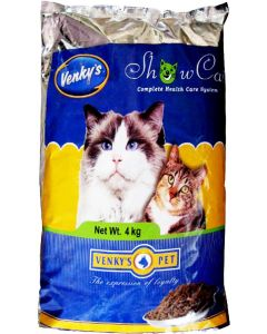 Venkys Show Cat Health Care Cat Food 4 Kg