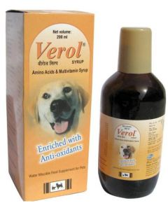 Zoetis Verol Syrup for Dogs 200 ml