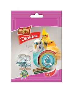 Vitapol Vitaline Shells And Lime Supplement For Birds 50 gms