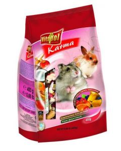Vitapol Fruit Food For Hamsters, Rabbits 400 gms